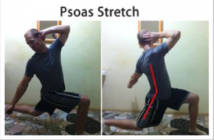 Psoas stretch to make you jump higher